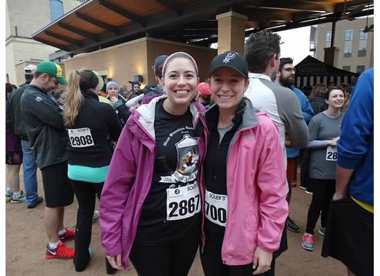 2015 Resolve for a Better SA 5K Julianne Reeves & Lauren Fleischer